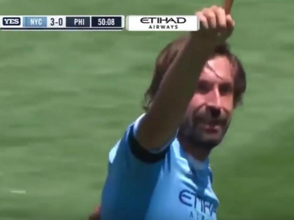 Vídeo: Lampard, Villa...e o primeiro golo de Pirlo na MLS