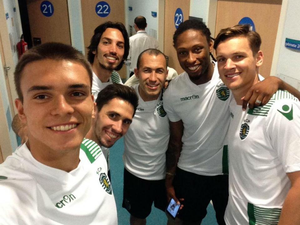 Sporting: João Palhinha emprestado ao Belenenses