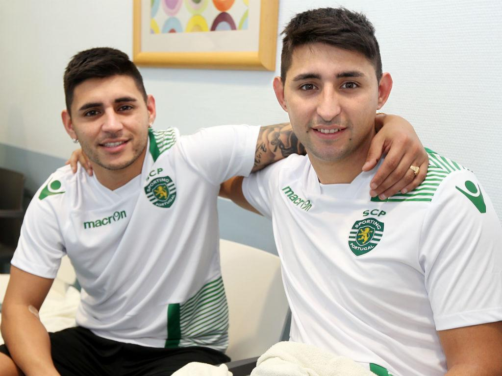 Sporting: irmão de Alan Ruiz volta a treinar um ano depois