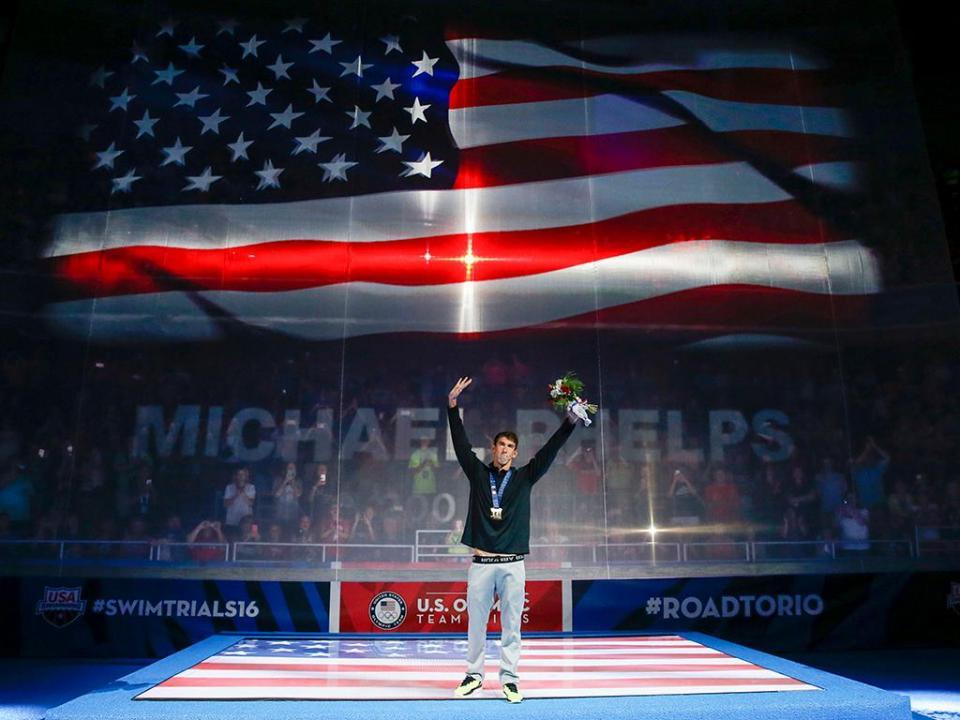 Phelps será o capitão da equipa de natação dos Estados Unidos