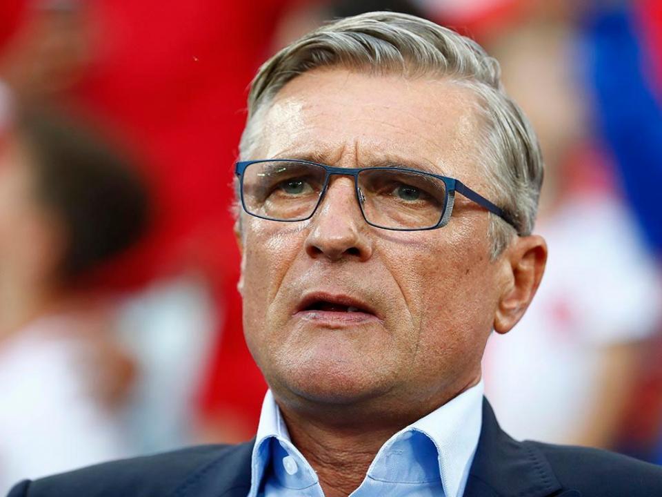 Polónia: selecionador de saída após eliminação no Mundial 2018