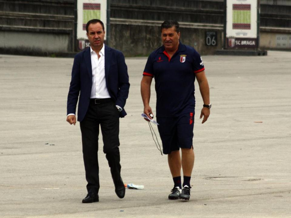 Sp. Braga: Xeka estreia-se nos convocados
