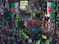País de Gales em festa
