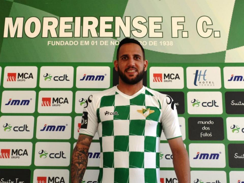 Moreirense: Neto e Schons regressam para jogo na Luz