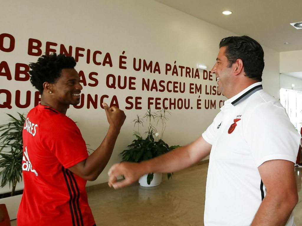 Eliseu está em final de contrato: «A minha vontade é continuar no Benfica»