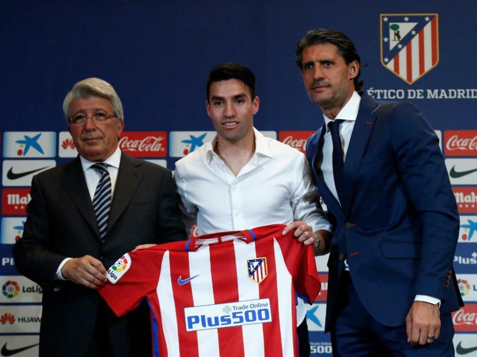 Gaitán apresentado no Atlético: «No ano passado já queria vir»