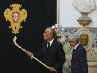Presidente condecora seleção de hóquei em patins (José Sena Goulão/Lusa)