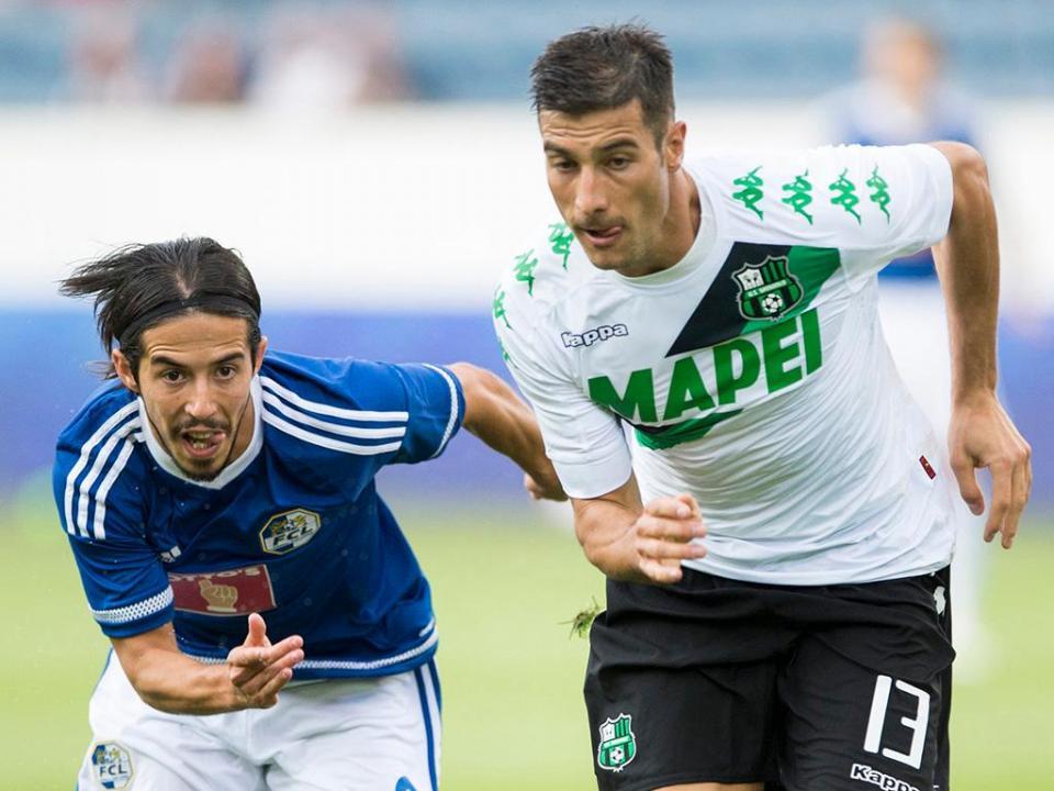 LE: Lucerna de Ricardo Costa deixa-se empatar pelo Sassuolo