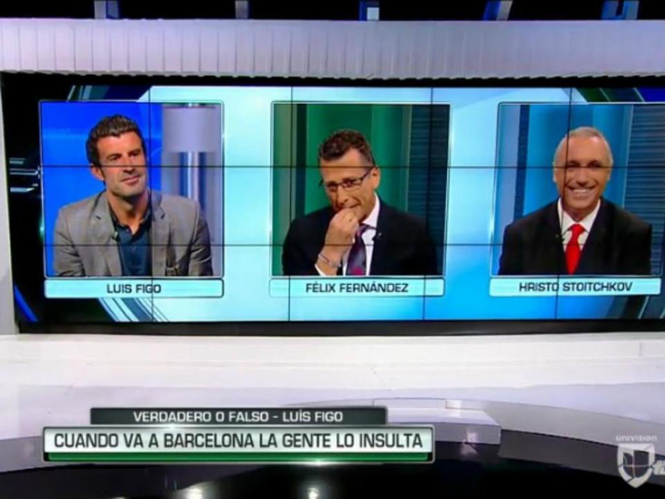 Stoichkov para Figo: «Se te vir em Barcelona, ainda te insulto»