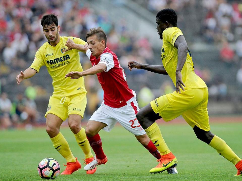 Sp. Braga empata com Villarreal em teste para a Supertaça