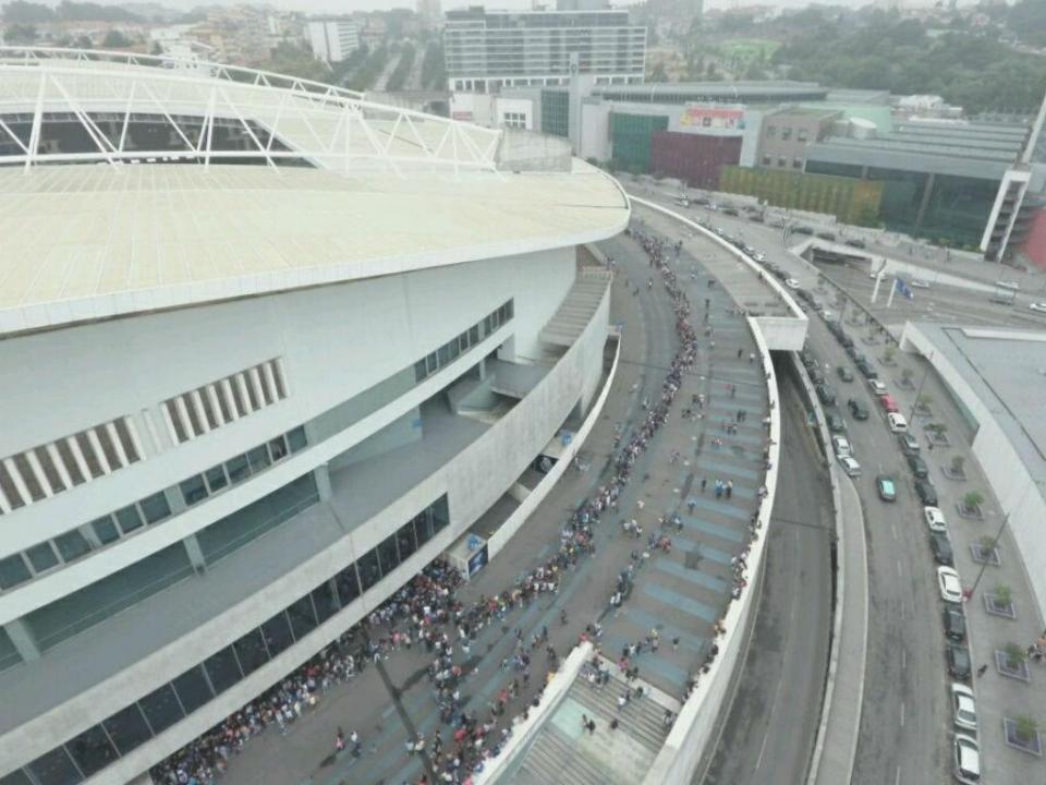 FC Porto: bilhetes para a apresentação à venda na segunda-feira