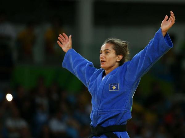 Rio2016: judoca Majlinda Kelmendi conquista primeiro ouro para o Kosovo