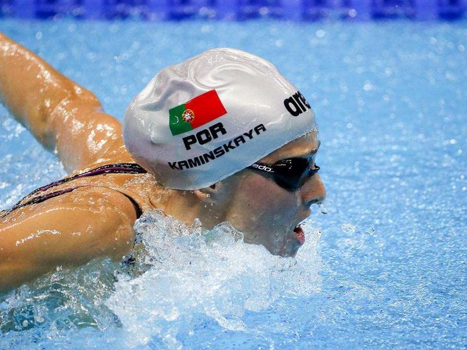 Victoria Kaminskaya reforça natação do Benfica
