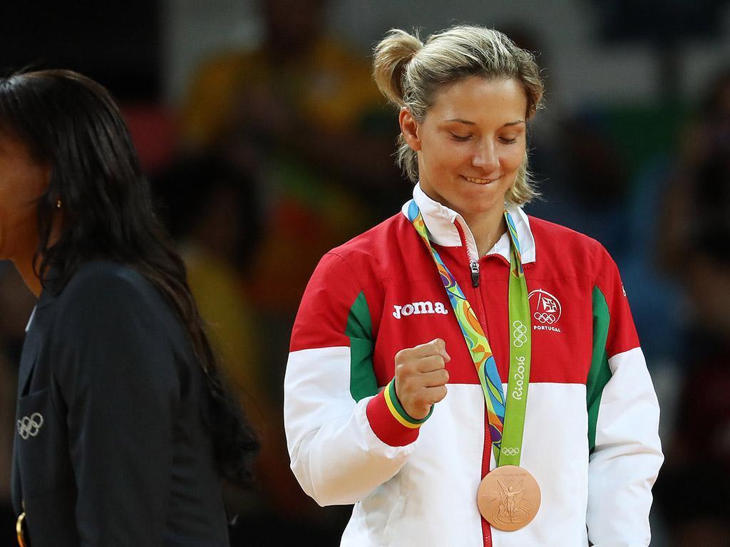 Telma Monteiro conquista ouro na Rússia