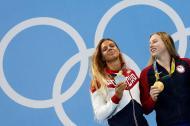 Lilly King e Yulia Efimova (Reuters/David Gray)