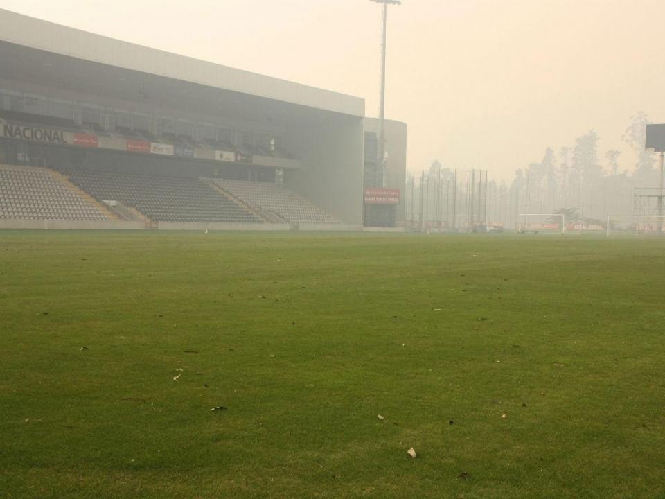 Nacional-FC Porto B adiado por causa do nevoeiro