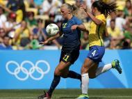 Futebol Feminino: Brasil-Suécia (Reuters)