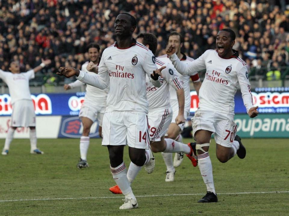 Mercado: campeão no AC Milan assina pelo Gil Vicente