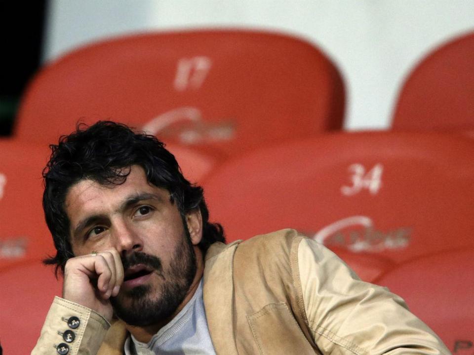 Gattuso apresentado: «Os jogos não se preparam só com raça»