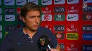 Rui Jorge: «Ganhámos o direito de estar com conforto nesta fase»