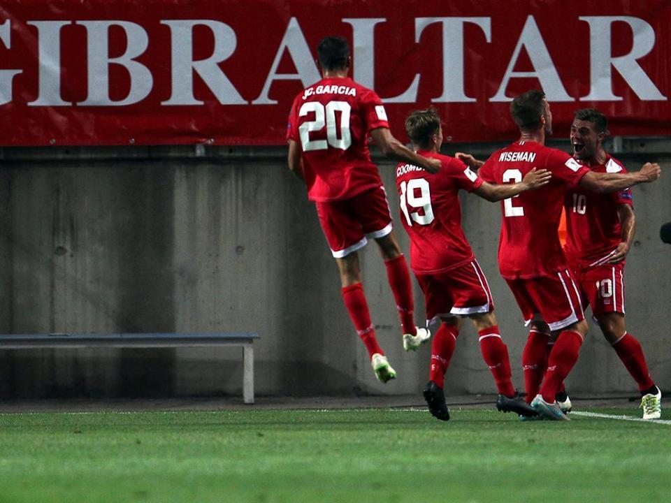 HISTÓRICO: Gibraltar ganha o primeiro jogo oficial de sempre