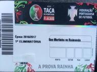 Raimonda na Taça de Portugal 2016/17