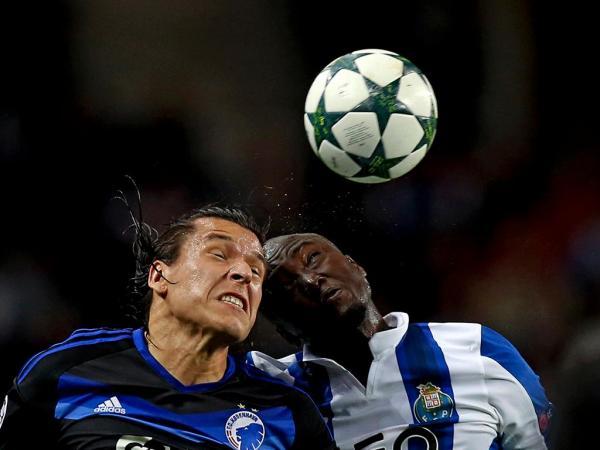LC: FC Porto-Copenhaga, 1-1 (resultado final)