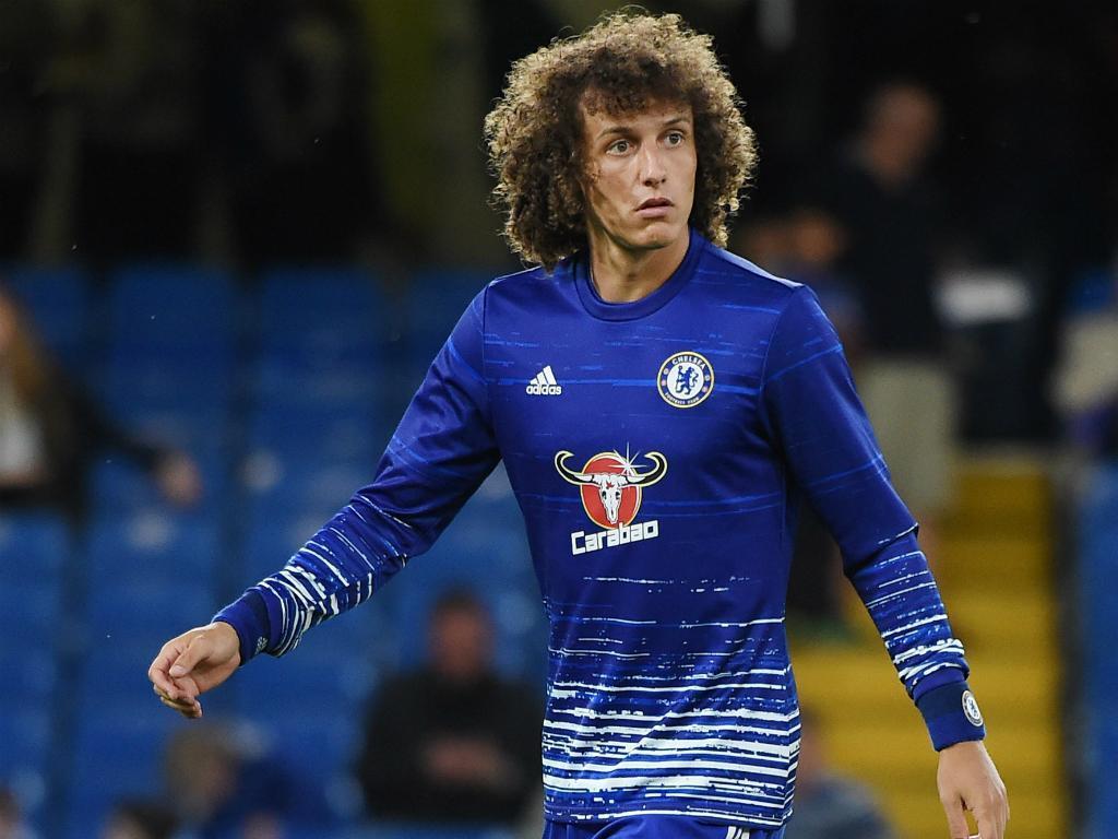 Conte: «David Luiz tem um problema grave no joelho»