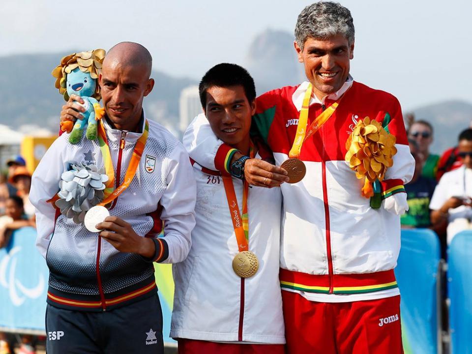 Resultado de imagem para Atletas paralímpicos passam a receber o mesmo que os olímpicos em prémios
