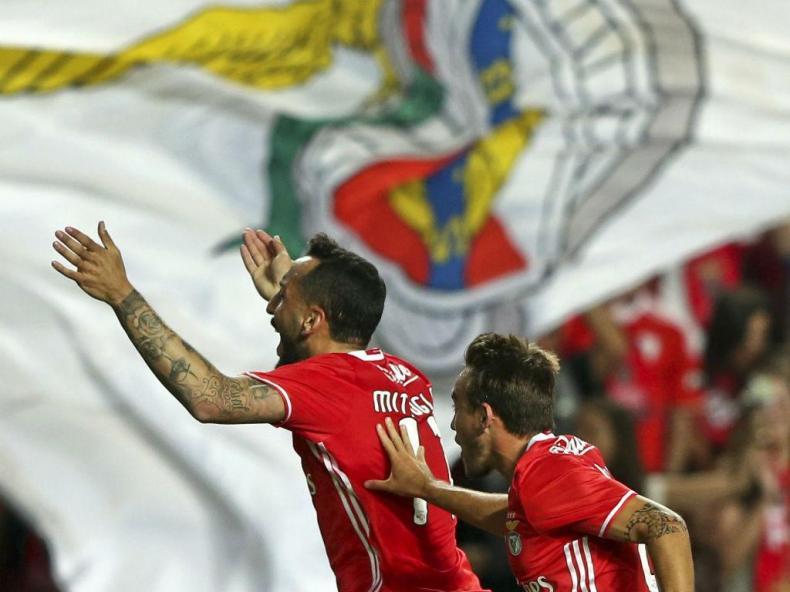 Benfica-Sp. Braga (LUSA/Manuel Almeida)
