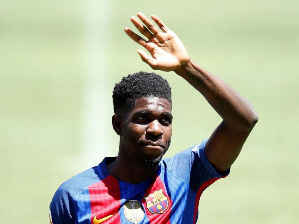 Umtiti: «Para me tirarem do Barça só ao pontapé»