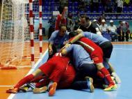 Futsal: Brasil cai no Mundial e rivais homenageiam Falcão