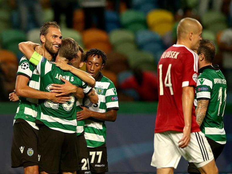 Sporting-Legia (Lusa)