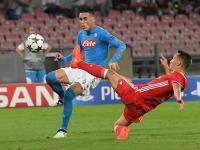 LC: Benfica perde em Nápoles