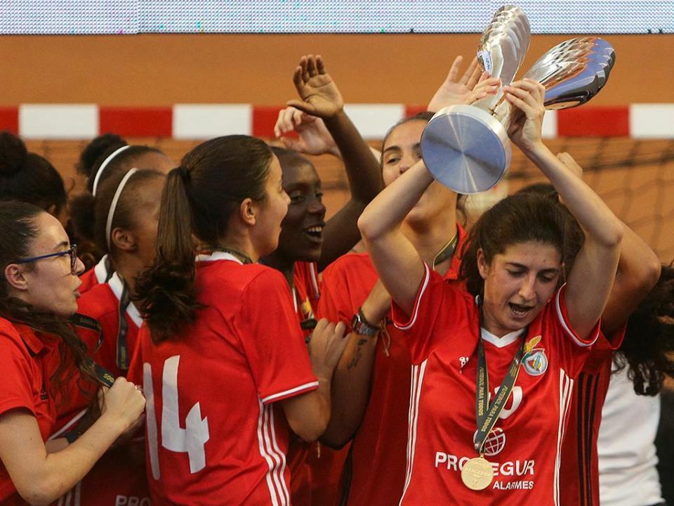 Futsal feminino: Benfica vence Taça Portugal