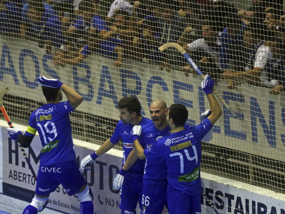 TAÇA CERS: Óquei de Barcelos será a única equipa portuguesa na Final Four