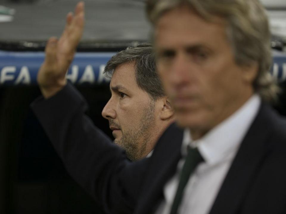 Bruno de Carvalho garante que Jorge Jesus continua na próxima época