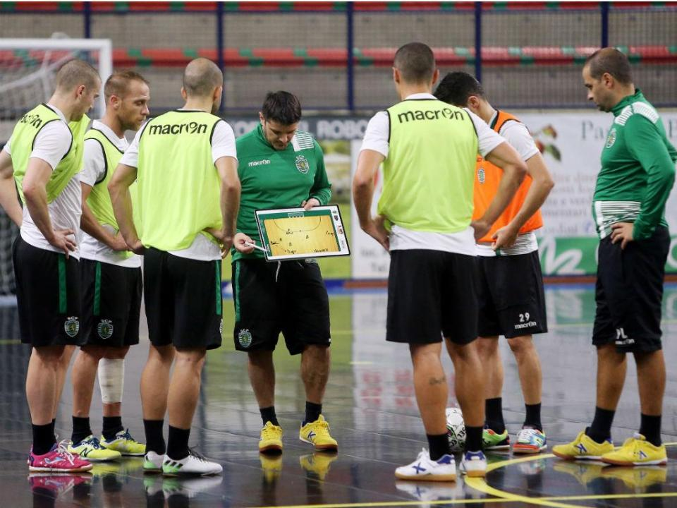 Futsal: Sporting garante presença na final do campeonato