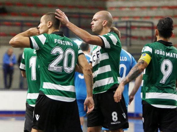 Futsal: Sporting goleia Belenenses, Sp. Braga imita leões