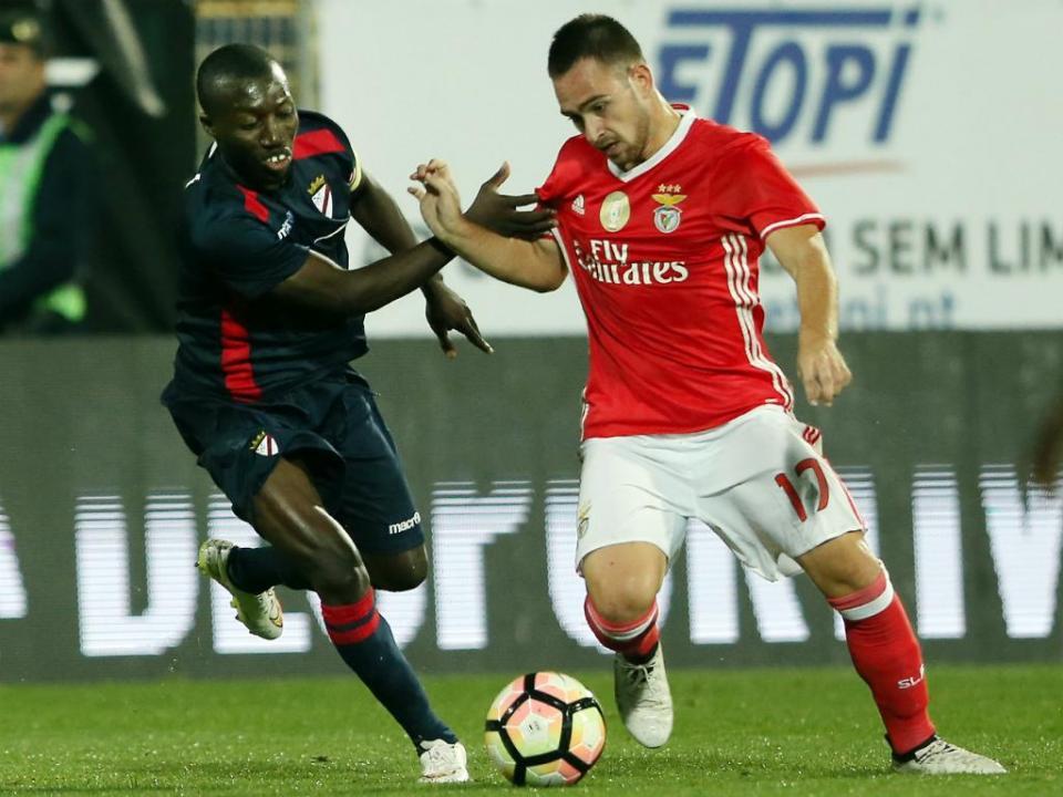 Benfica: Zivkovic nos convocados da Sérvia para o Euro sub-21