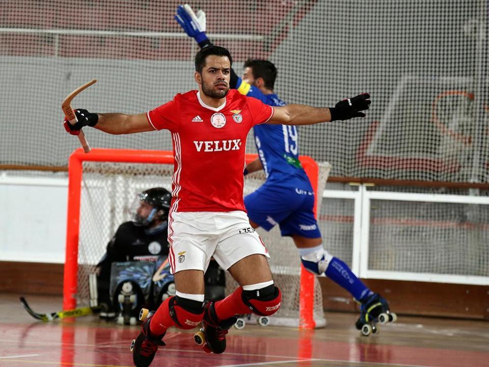 Hóquei: póquer de João Rodrigues coloca Benfica nos «quartos»