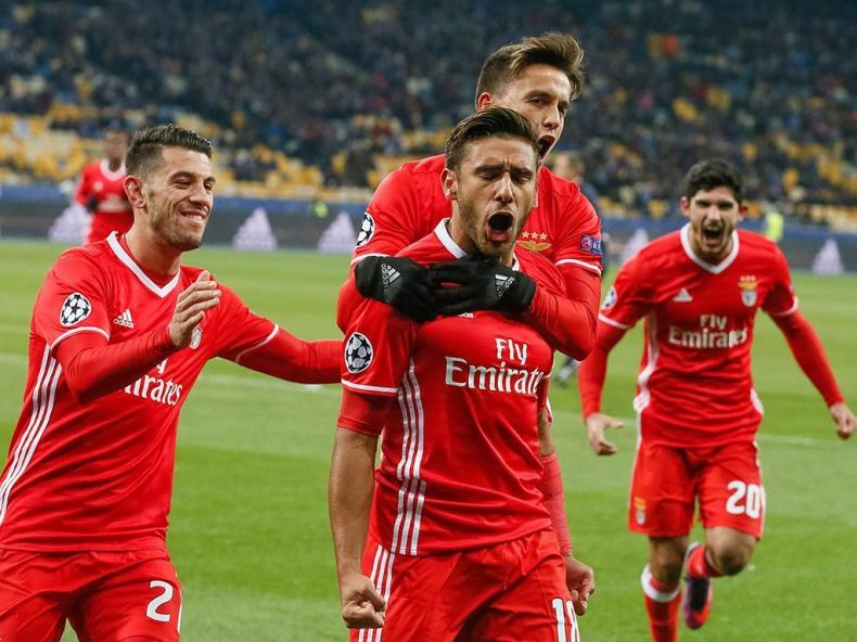 Dynamo Kiev-Benfica (Lusa)