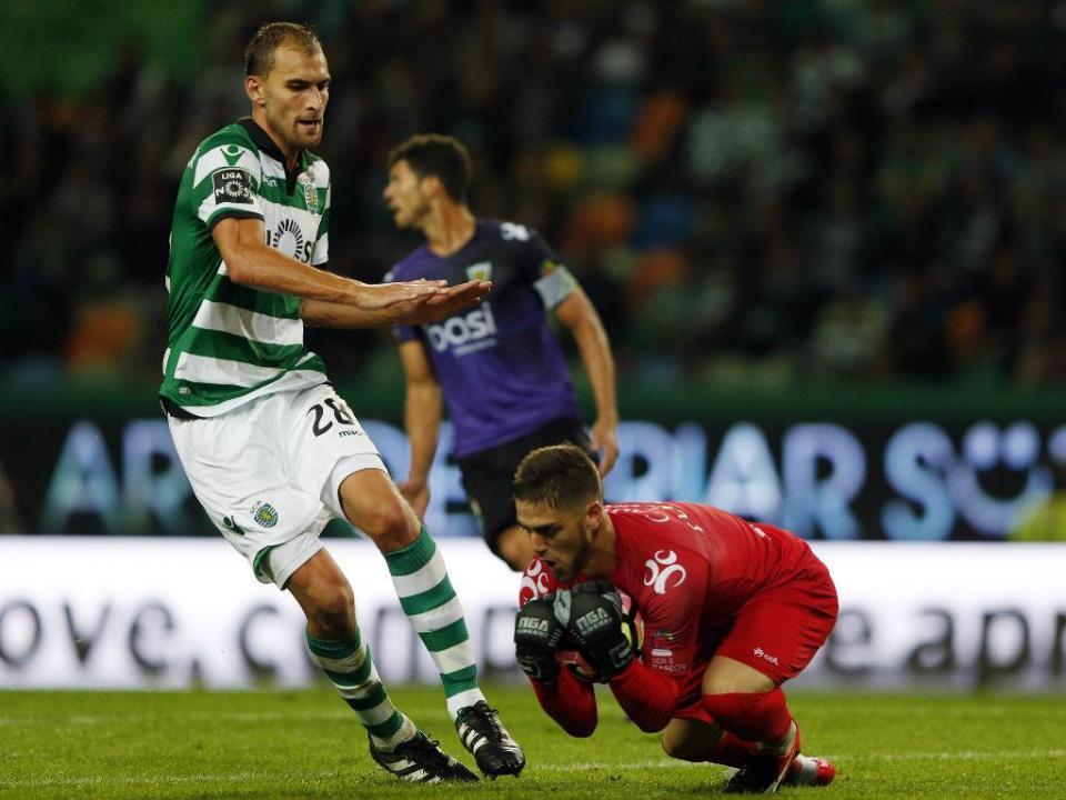 Sporting enfrenta Tondela e procura fazer o que nunca fez