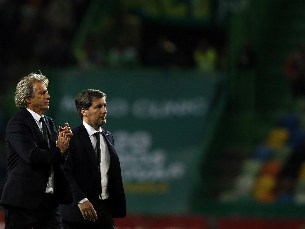 Bruno de Carvalho suspende Jesus e restante equipa técnica, diz TVI