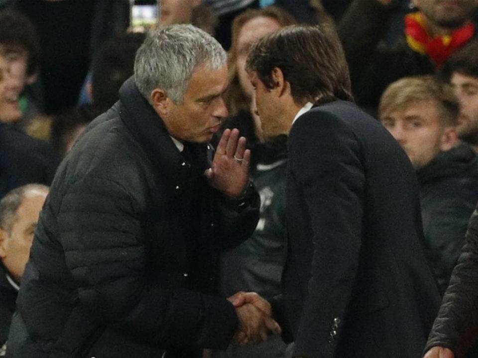 Mourinho já não responde a Conte: «Decidi optar pelo desprezo»