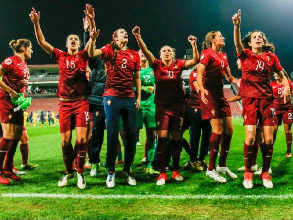 Futebol feminino: Portugal sobe dois lugares e está em 34º no ranking da FIFA