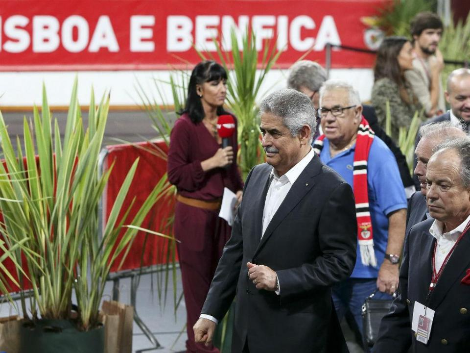 Benfica: TAD mantém castigo a Luís Filipe Vieira