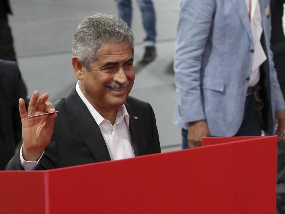 Benfica: Vieira admite contratar jogador saído do Sporting