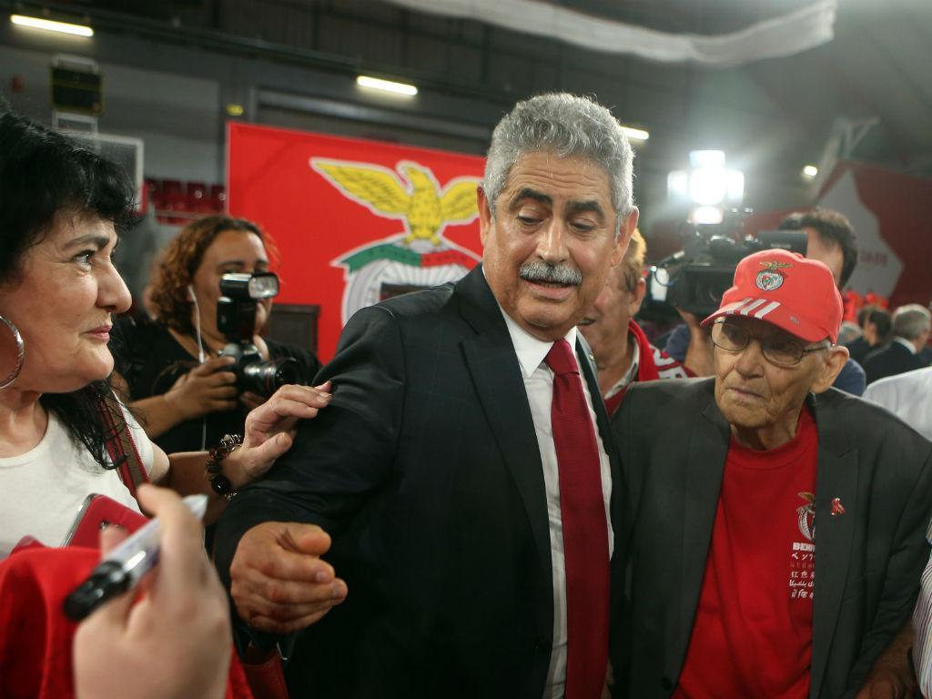 Benfica recorreu da suspensão imposta a Luís Filipe Vieira