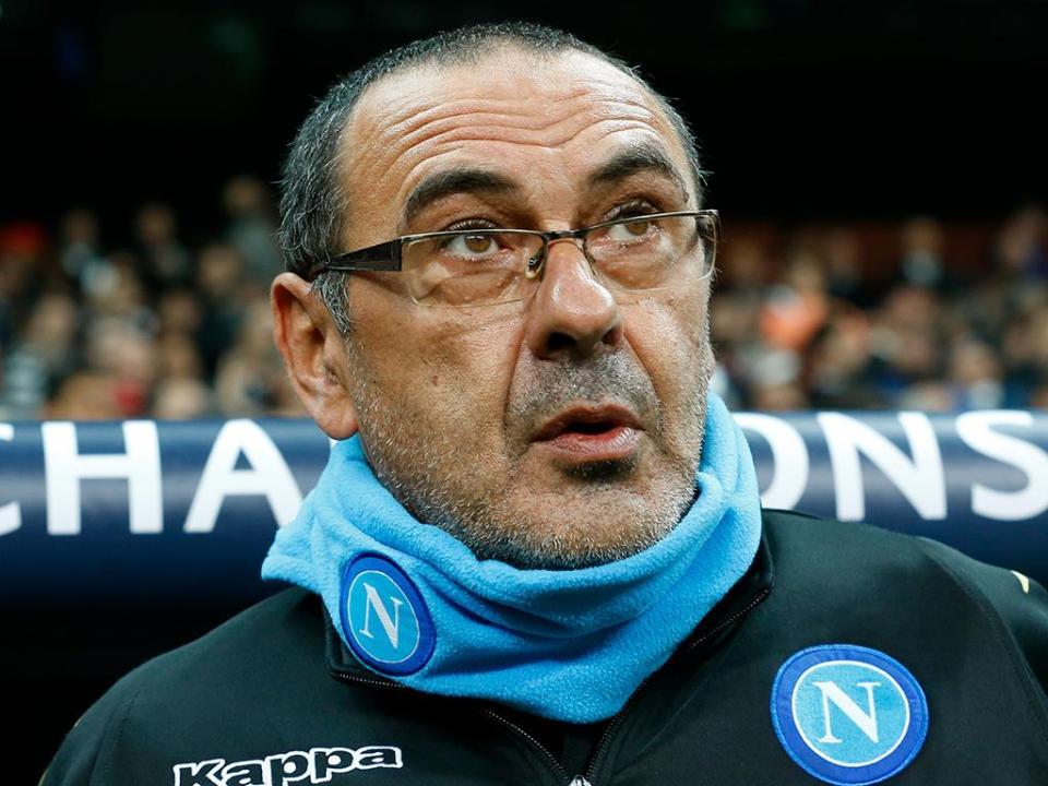 Presidente do Nápoles diz que Sarri e Jorginho estão perto do Chelsea